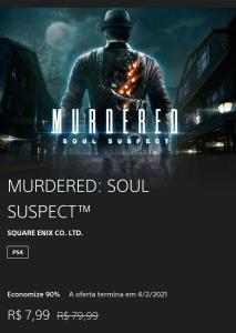 Murdered: Soul Suspect | R$8