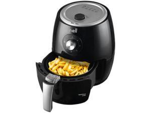 Fritadeira Elétrica sem Óleo/Air Fryer Nell Smart - Preta 2,4L com Timer | R$270
