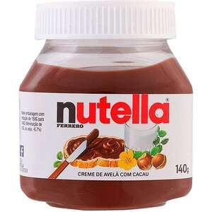[AME R$5] Creme de Avelã com Cacau Nutella Ferrero Pote - 140g R$10