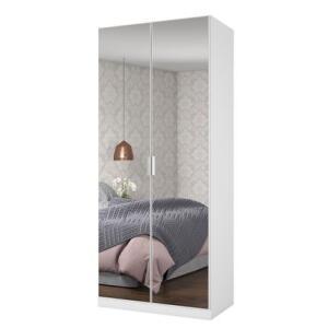 Sapateira Multiuso Mademarques Dália com Espelho Branca | R$485
