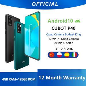 Smartphone Cubot P40 4GB + 128GB | R$593
