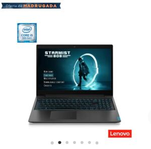 Notebook Lenovo Intel Core i5 9300HF 8GB 1TB GeForce GTX 1050 Ideapad L340 | R$3999 [no boleto]