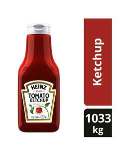 [Cliente Ouro + App] Ketchup Tradicional Heinz 1,033kg   R$17