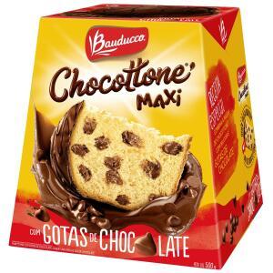 Chocottone Maxi Chocolate BAUDUCCO Caixa 500g | R$6