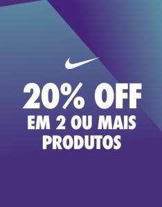 [Nike] Aproveite 20% de desconto adicional