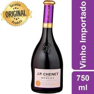 Vinho Tinto Francês Merlot J.P Chenet 750ml | R$63