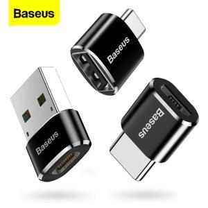 Adaptador Baseus USB Tipo C | R$10