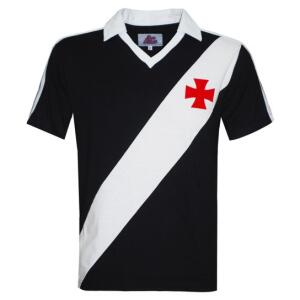 Camisa Polo Liga Retrô Vasco 1989 Masculina - Preto | R$112