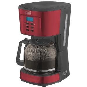 Cafeteira Black & Decker Linha Gift, 900W, Programável, 36 Xícaras, 1,5 L, CMPB2 - 220V | R$161