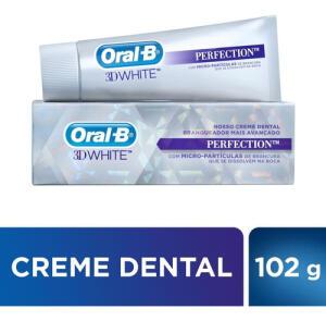 Creme Dental Oral B 3d White Perfection 102g | R$7