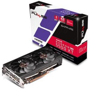 Placa de Vídeo Sapphire Pulse AMD Radeon RX 5500 XT, 4GB, GDDR6 - R$1330
