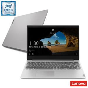 """Notebook Ultrafino Lenovo, Intel® Core™ i3-8130U, 4GB, 1TB, Tela de 15,6"""" R$2463"""