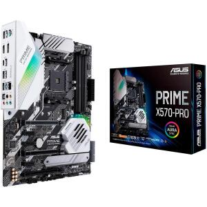 Placa-Mãe Asus Prime X570-Pro, AMD AM4, ATX, DDR4   R$1.470