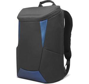 "Mochila IdeaPad Gaming Lenovo até 15.6"" para notebook GX40Z24050, Preto e Azul R$150"