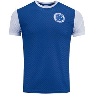 Camiseta do Cruzeiro Jacquard - Masculina