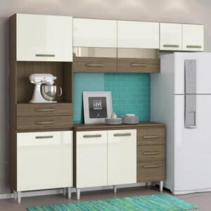 [AME R$ 409] Cozinha Larissa Completa C/ Balcão de Cozinha | R$ 817