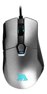 Mouse Gamer Pró Galax Xanova Xm380 16000 Dpi Usb | R$109