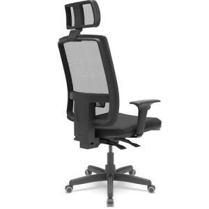 Cadeira Presidente Brizza Apoio Cabeça Braço 3D (AME = R$ 615)
