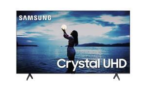"Smart TV Samsung 58"" TU7020 Crystal UHD 4K 2020 Bluetooth Borda ultrafina Cinza Titan | R$2564"