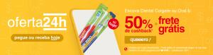 [AME R$0,99] Escova Dental Colgate ou Oral-B R$1,99