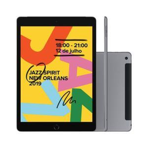 iPad 7 Apple 4G 32GB iPadOS A10 Fusion Tela 10.2 Pol. | R$ 2.999