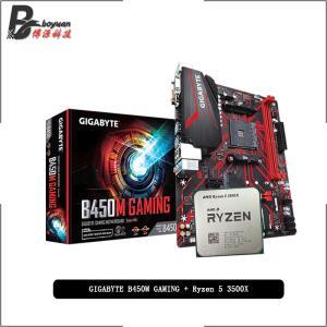 Kit Ryzen 5 3500x + Placa Mãe Gigabyte B450M Gaming   R$1.359