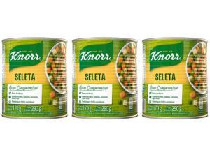 Kit Seleta de Legumes Knorr 3Unid | 8,37