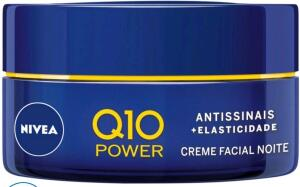 LEVE 2 PAGUE 1 - Creme Antissinais Facial Noturno Nivea Q10 Power - 50g - R$50