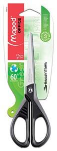 Tesoura 17cm, Maped, Essentials Green, 468010, Preto - R$6
