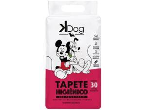 [10% off em 2 pacotes] Tapete Pet Higiênico KDog 30unid | R$ 45
