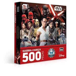 [Prime] Quebra Cabeça 500 Peças - Star Wars Ix - Ascensão Skywalker | R$ 45