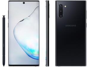 (APP) Samsung Galaxy Note 10 256gb preto 8gb de ram | R$2429