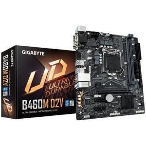 Placa-Mãe Gigabyte B460M D2V, Intel LGA1200, Micro ATX, DDR4 | R$550