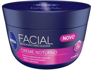 [APP +CLIENTE OURO] 2 Un.Creme Hidratante Facial Nivea Noturno 100g | R$24