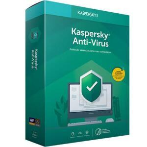 KasperskyAnti-Virus plano anual | R$8,99,