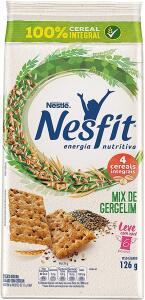 Biscoito, Mix de Gergelim, Nesfit, 21g | R$0,52
