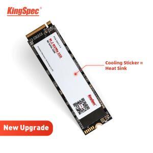 SSD M2 nvme 1tb KingSpec leitura 2400mb/s | R$530