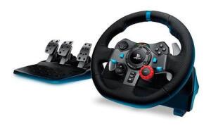 Volante Logitech Driving Force G29 Para Ps4 / Ps3 / Pc Preto | R$ 1719