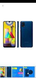 [Cliente Ouro] Smartphone Samsung Galaxy M31 128GB 4G | R$ 1484