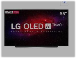 "[Loja Fisica] Smart TV 4K LG OLED AI 55"" com Inteligência Artificial, Cinema HDR | R$ 5799"