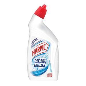 [PRIME] Limpador Sanitário Desinfetante Líquido Cloroforte 500 ml, Harpic (a partir de 5uni.) | R$: 4,72