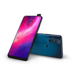 "Smartphone Motorola One Hyper Azul Oceano 128GB, Tela Total Vision de 6.5"" - R$1487"