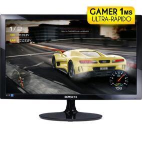 "Monitor Samsung LED 24"" Gamer 1 ms/75h - R$736"