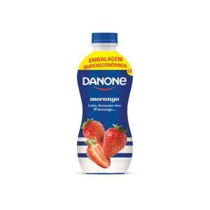 Iogurte Integral Danone Morango 1350g   2 unid   R$4,72 cada
