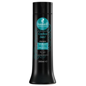 Shampoo Haskell Cachos Sim 300ML Nutre Hidrata Desembaraça | R$33