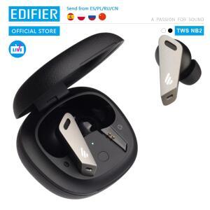 Fone de Ouvido Edifier NB2 TWS Bluetooth Cancelamento de Ruído + Anti Lag | R$450