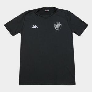 Camisa Térmica Vasco Kappa 20/21 Preta ou Branca | R$47