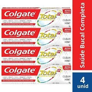 [PRIME] Creme Dental Colgate Total 12 Clean Mint 90g Promo Bandeja 4un | Recorrência | R$13
