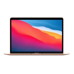"(APP) Macbook Air MGND3BZ/A M1 8GB 256GB 13"" - Dourado | R$8122"