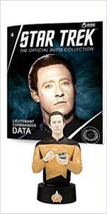 Star Trek Busts Ed. 4 - Data (Inglês) Acabamento especial R$94